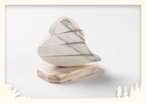 Herz drehbar Sölker Marmor