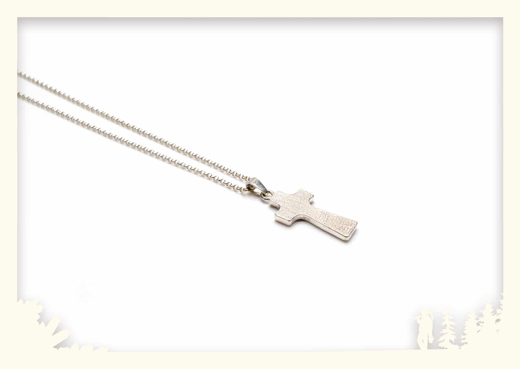 Silberanhänger Kreuz