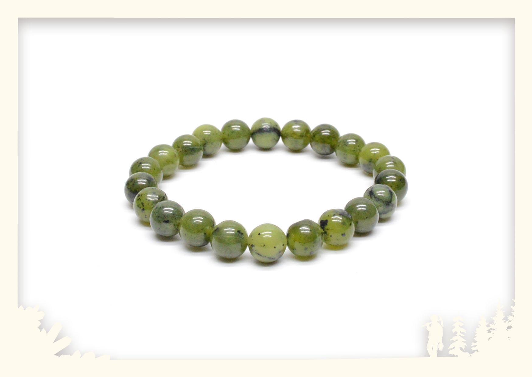Kugelarmband dunkle Jade Image