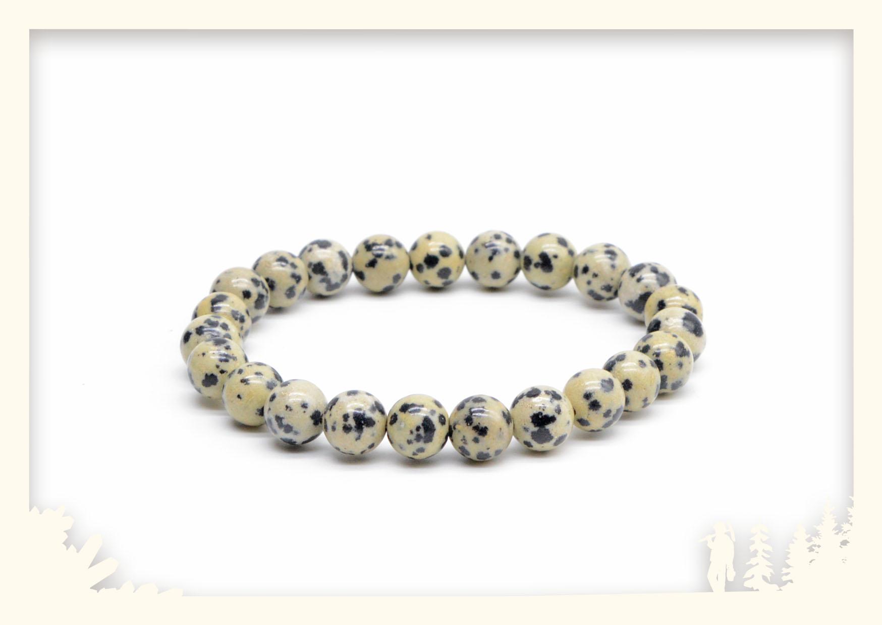 Kugelarmband Dalmatinerjaspis Image