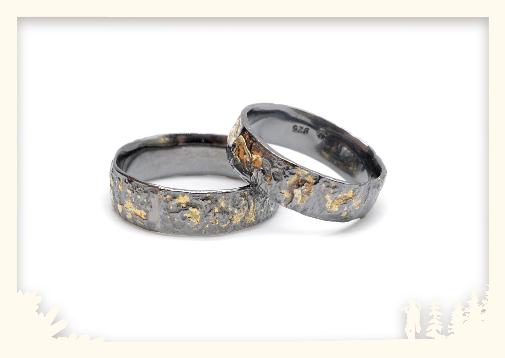 Ringe retikuliert Image